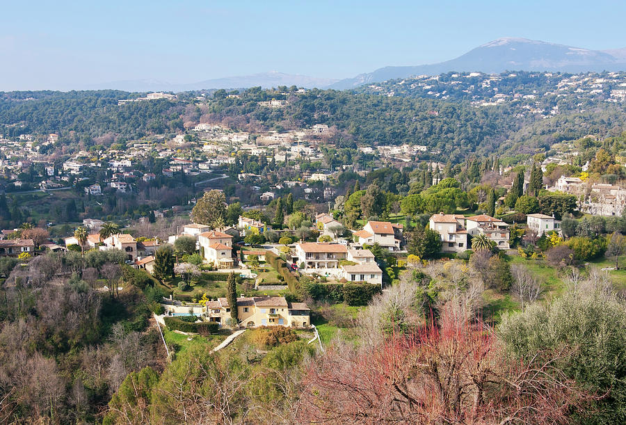 Landscape In The South Of France Photograph by Typo-graphics