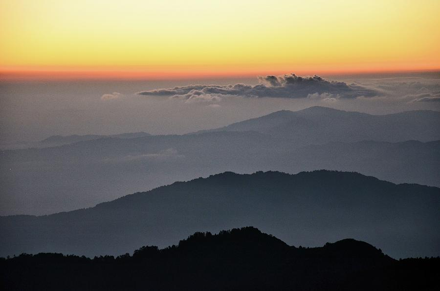 Landscape Of Eastern Himalayas Photograph by Pallab Seth