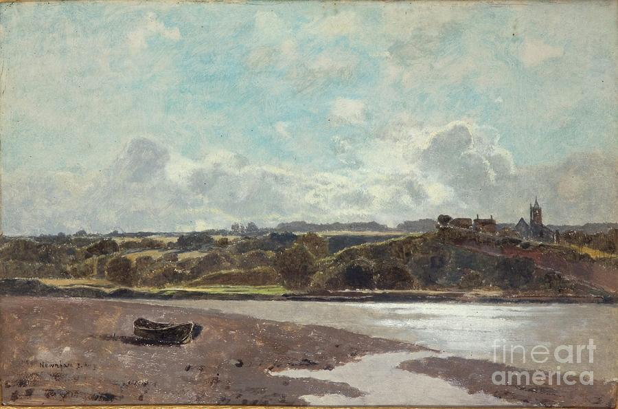 Landscape Opposite Newnham On Severn Drawing by Heritage Images