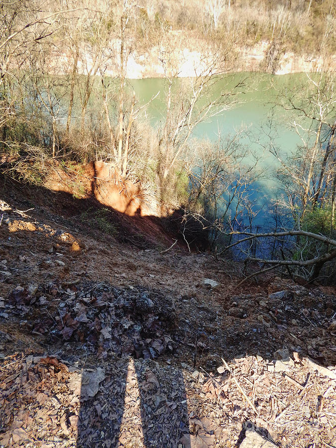 Knoxville Photograph - Landslide Shadows by Phil Perkins