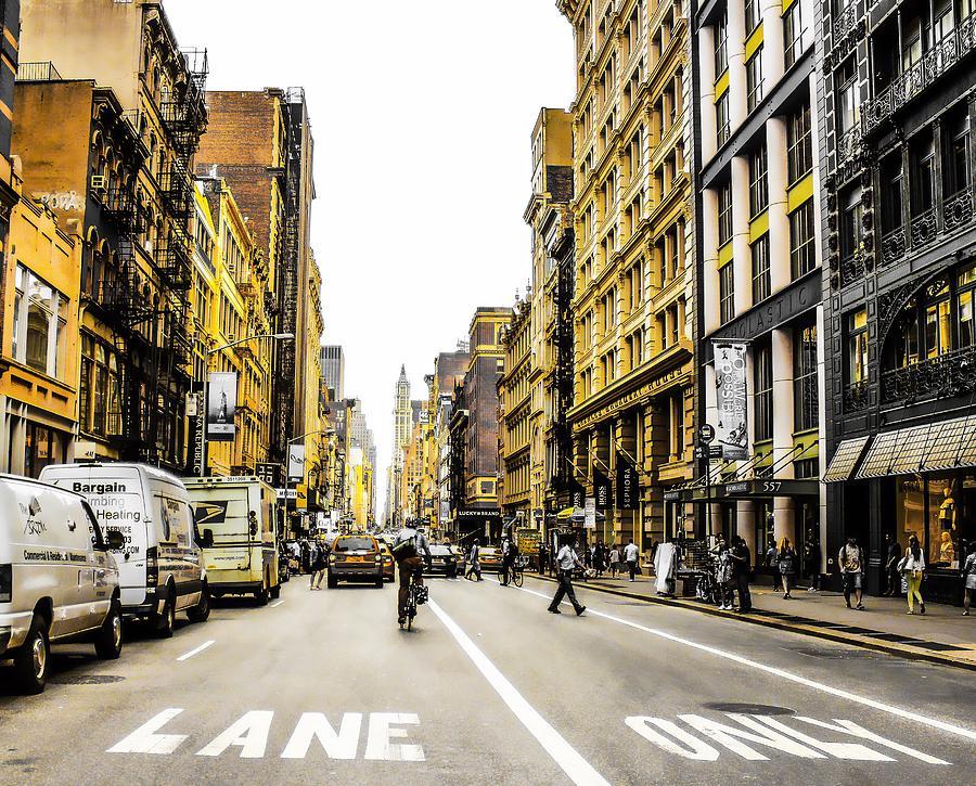 Lane only  by Geraldine Gracia