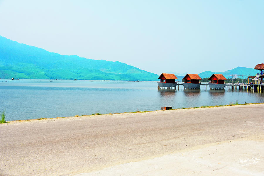Hue Photograph - Lang Co View - Hue, Vietnam by Madeline Ellis