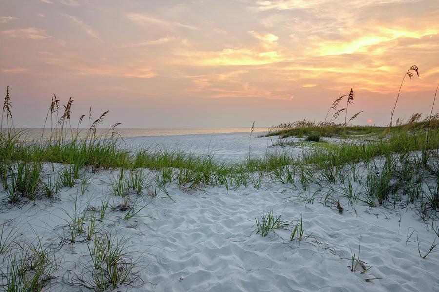 Langdon Beach Sunset 8 - Pensacola Beach Florida by Brian Harig