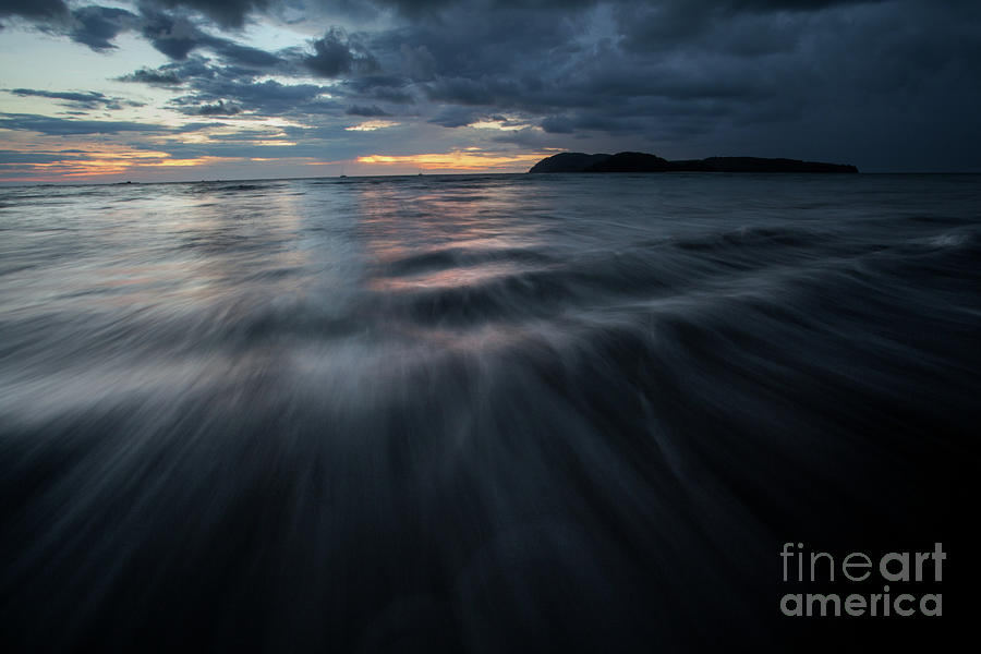 Moving Water Photograph - Langkawi Sunset by Awais Yaqub