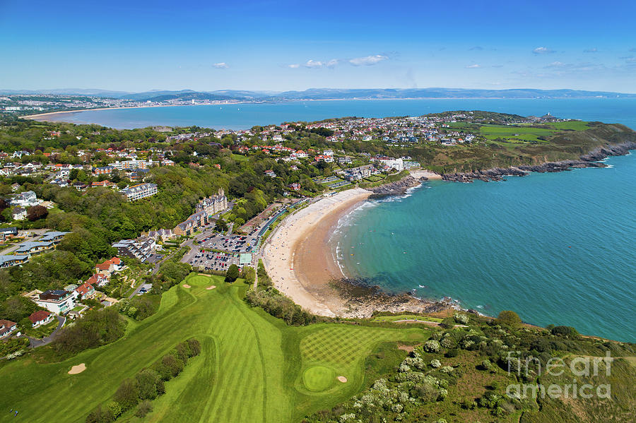 Langland Bay, Gower, Wales by Keith Morris