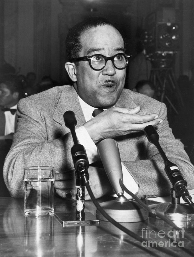 Langston Hughes Testifying Photograph by Bettmann