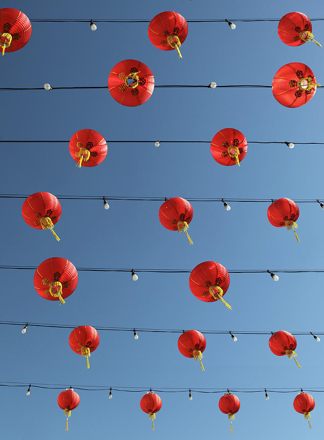 Lanterns In Chinatown Photograph by Paul Taylor
