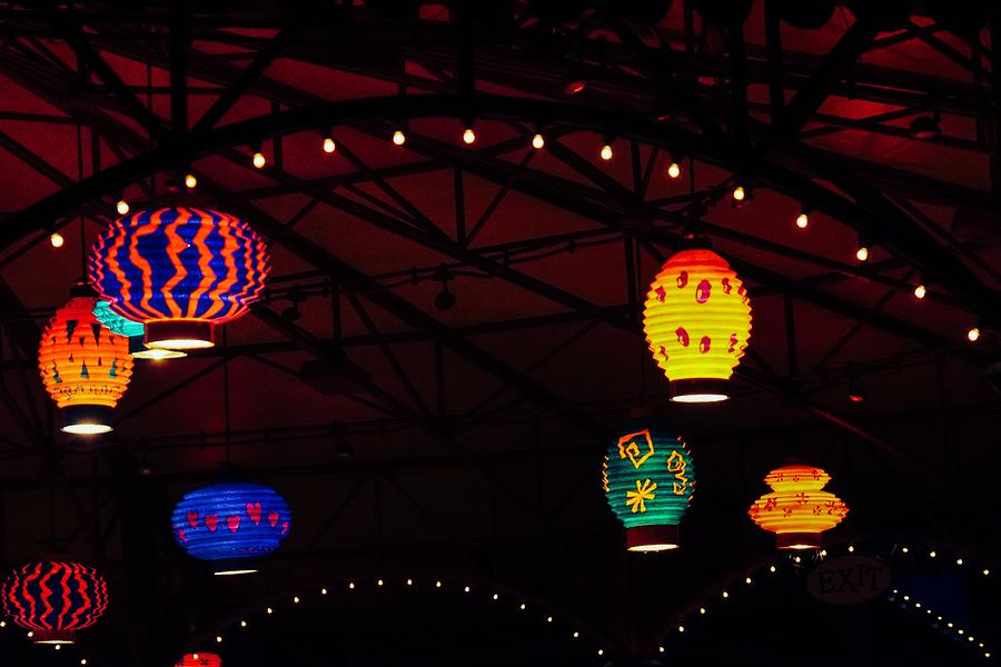 Lanterns in the Air by Rodney Lee Williams