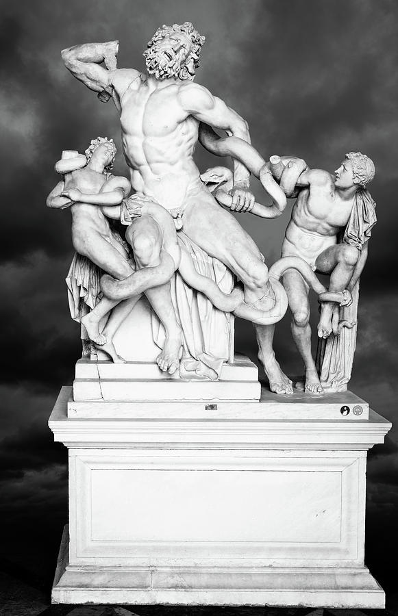 Laocoon And His Sons Statue Photograph