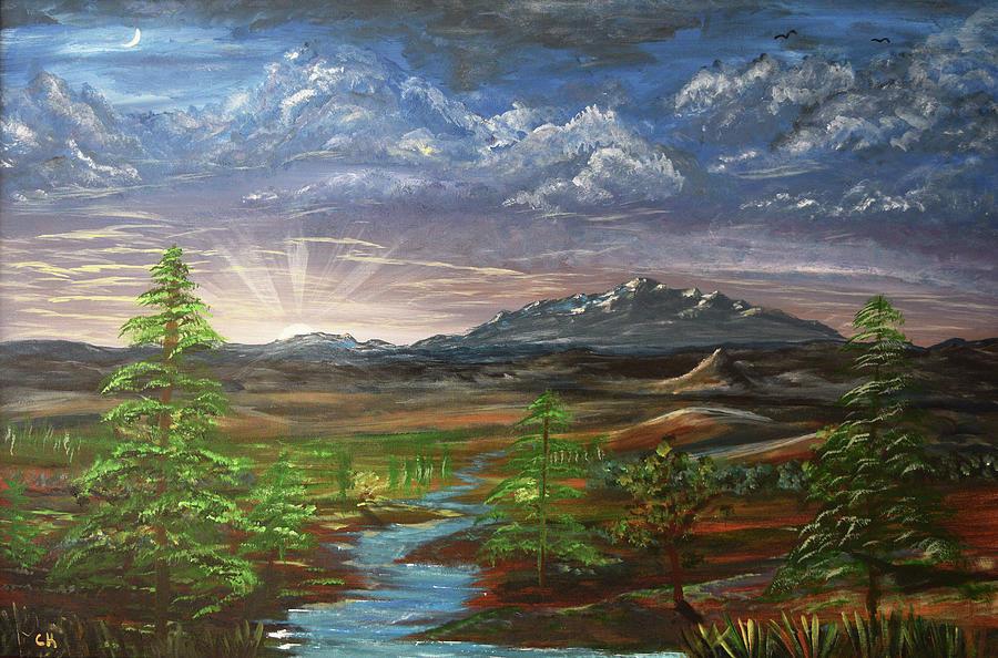 Laramie Peak Evening by Chance Kafka