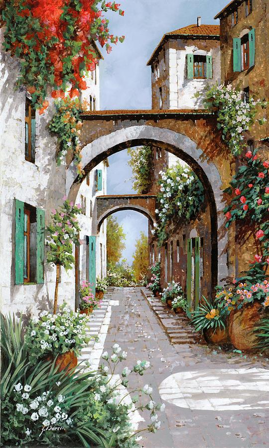 Arch Painting - Larco Dellangelo by Guido Borelli