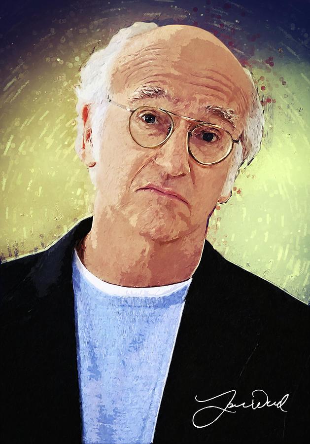 Larry David Digital Art