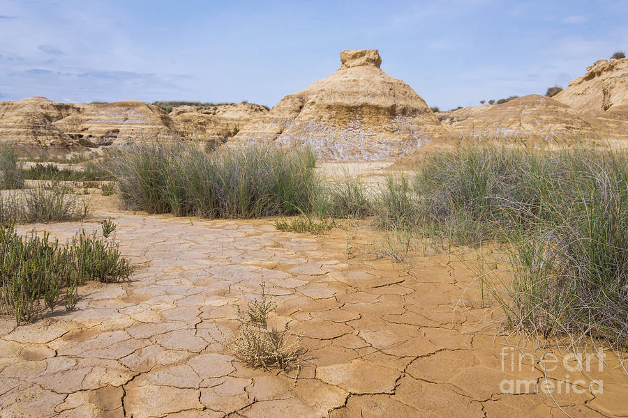 Las Bardenas Reales Desert, Spain by Fine Art On Your Wall