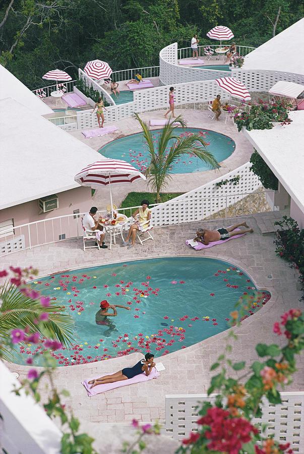 Las Brisas Hotel Photograph by Slim Aarons