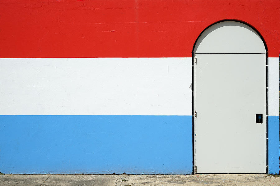 Las Croabas - Red White and Blue by Richard Reeve