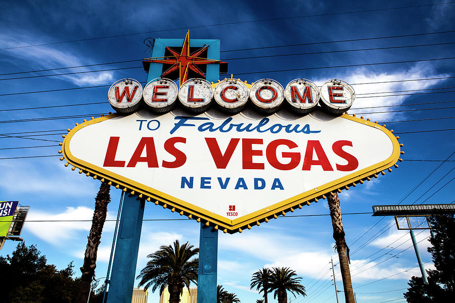 Las Vegas Photograph by Aluma Images