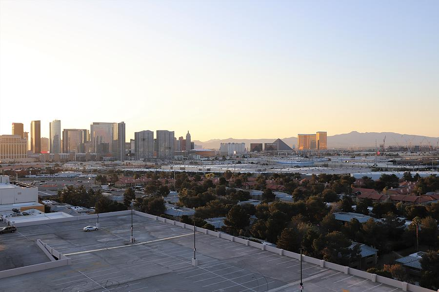 Las Vegas by day by Sagittarius Viking