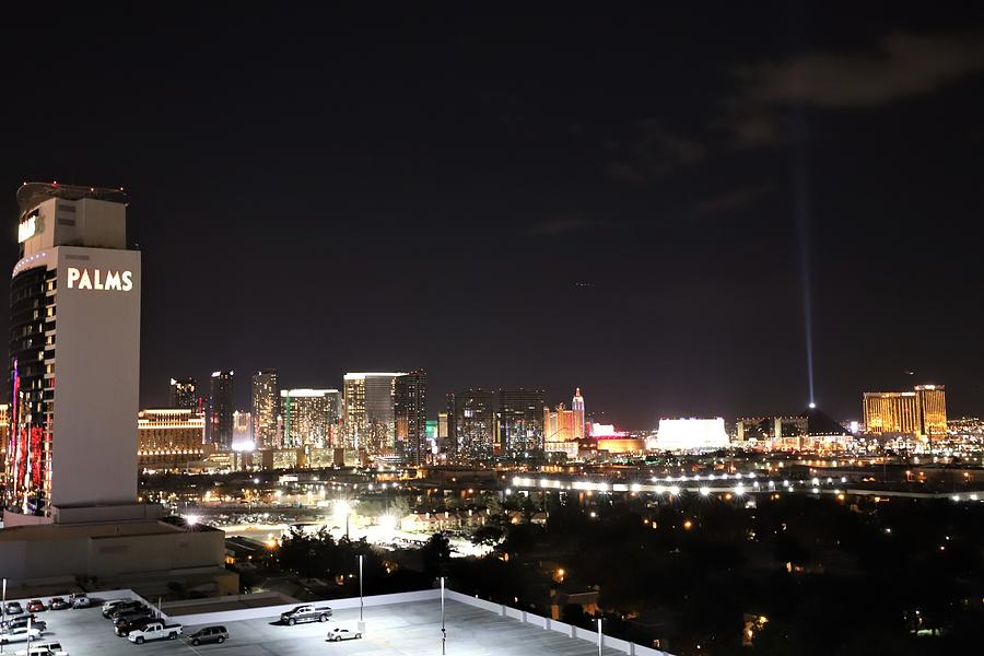 Las Vegas by night by Sagittarius Viking