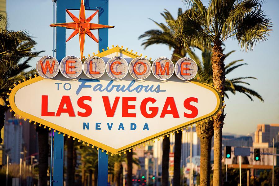 Las Vegas Sign Photograph by Webphotographeer