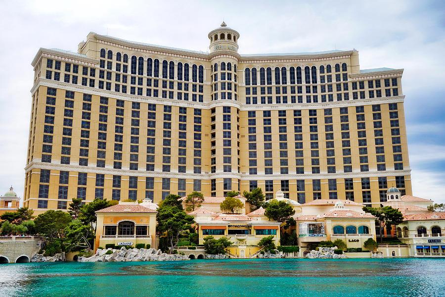 Las Vegas Strip Study 1 by Robert Meyers-Lussier