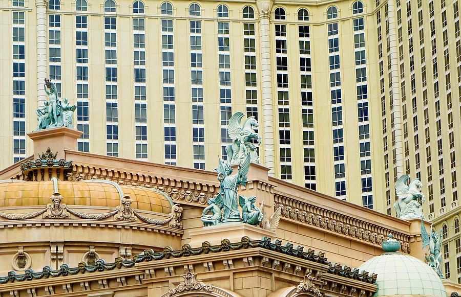 Las Vegas Strip Study 7 by Robert Meyers-Lussier