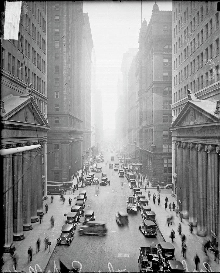 Lasalle Street Photograph by Chicago History Museum