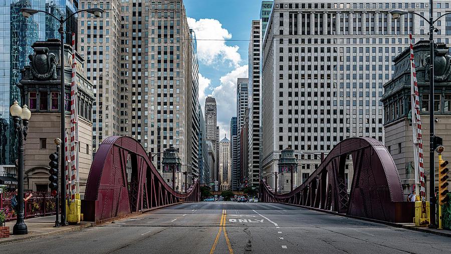 LaSalle Street by Randy Scherkenbach