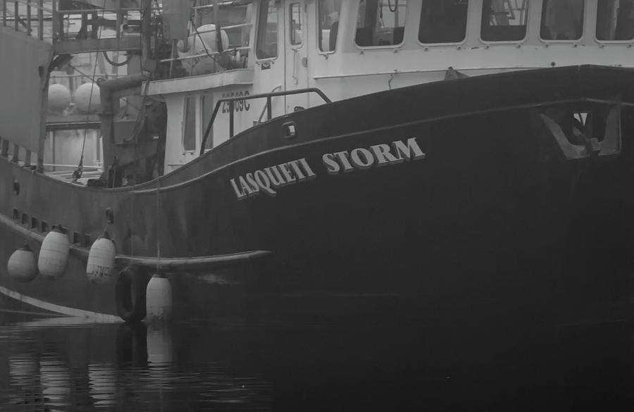 Lasqueti Storm In The Fog Photograph