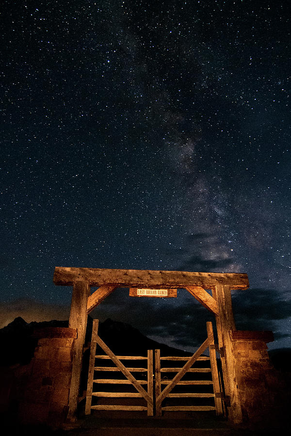 Last Dollar Milky Way by Steve Stuller