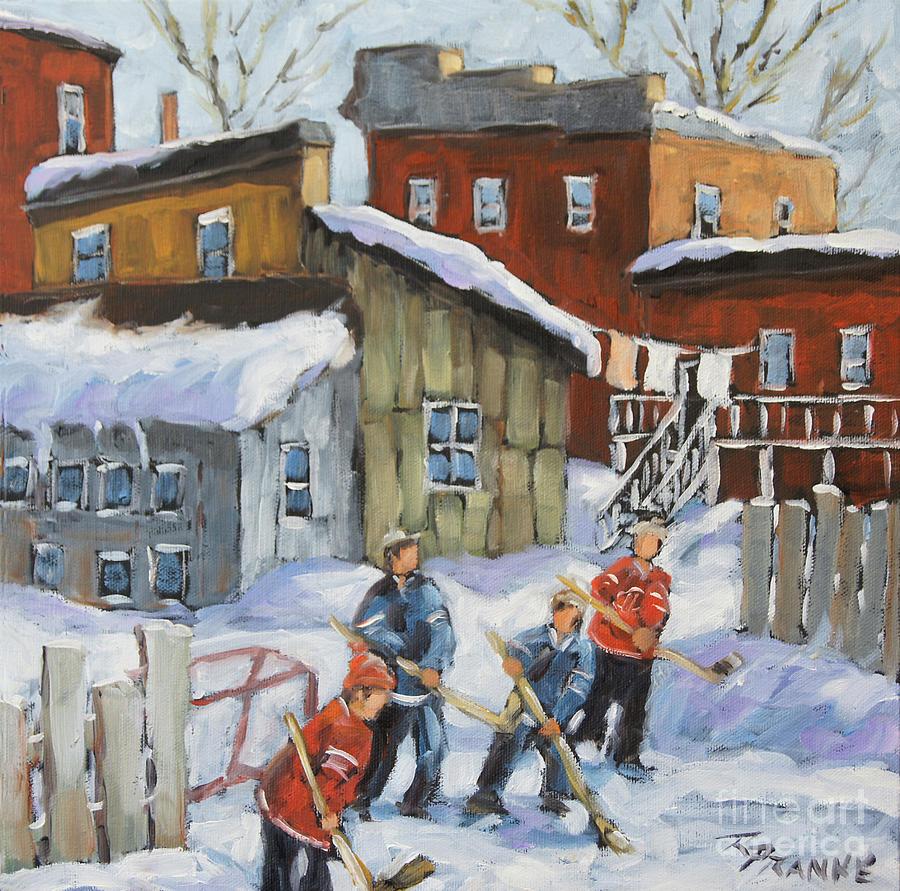 Last Game of Hockey  by Richard T Pranke