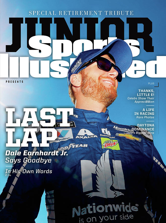 Last Lap Dale Earnhardt Jr. Retirement Special Sports Illustrated Cover Photograph by Sports Illustrated