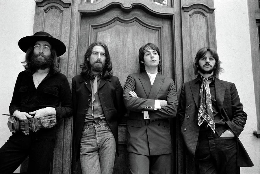 Last Picture of all 4 Beatles Together - 1969 by Doc Braham