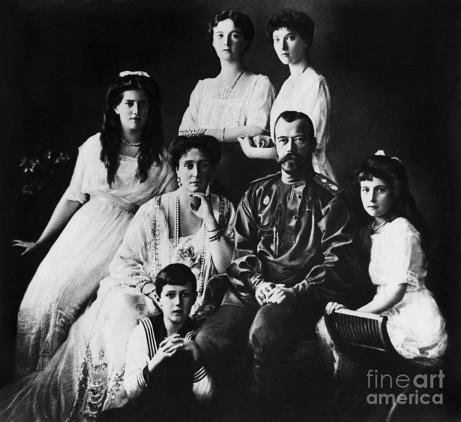 Last Russian Imperial Family Photograph by Bettmann