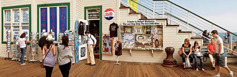 Last Stop, Santa Monica Pier by Andy Romanoff