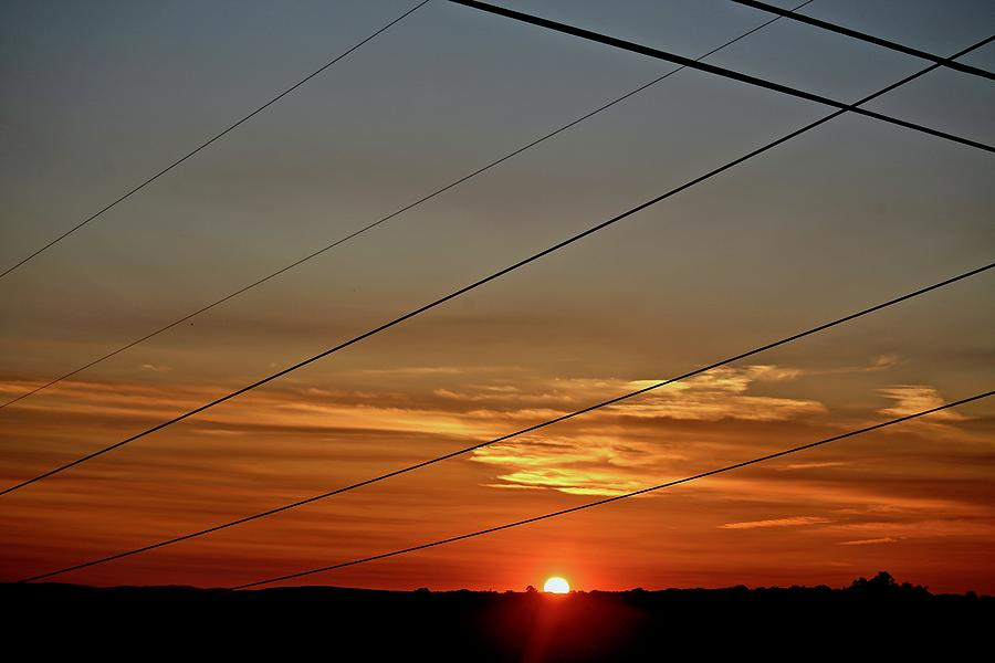 Sunset Photograph - Last Sunset by Gillis Cone