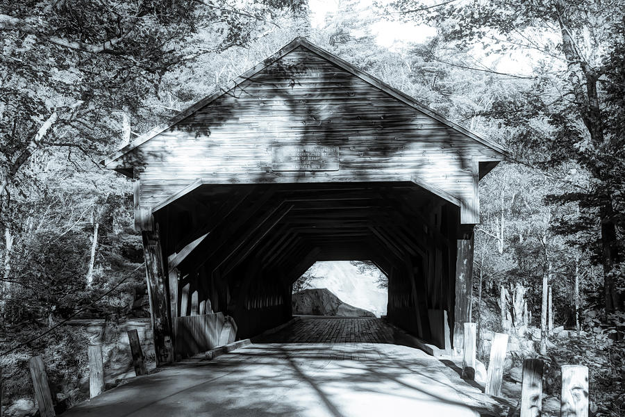 Late afternoon at the Albany covered bridge by Jeff Folger