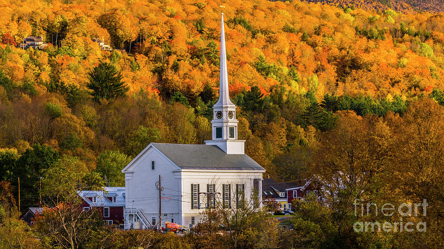 Late Afternoon in Stowe by Scenic Vermont Photography