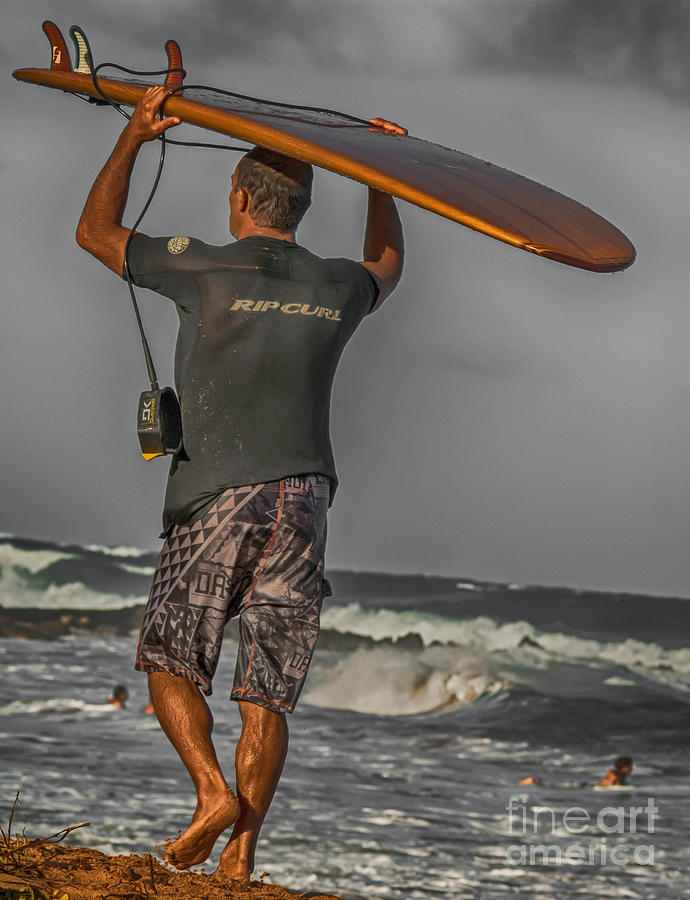 Late Aftternoon Surf by Eye Olating Images