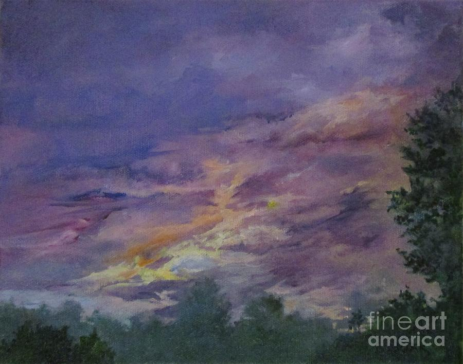 Late Day Impending Storm by Barbara Moak
