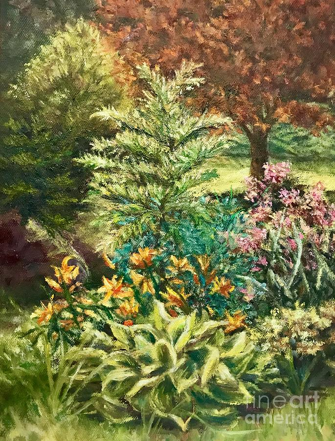 Late Summer Garden by Gail Allen