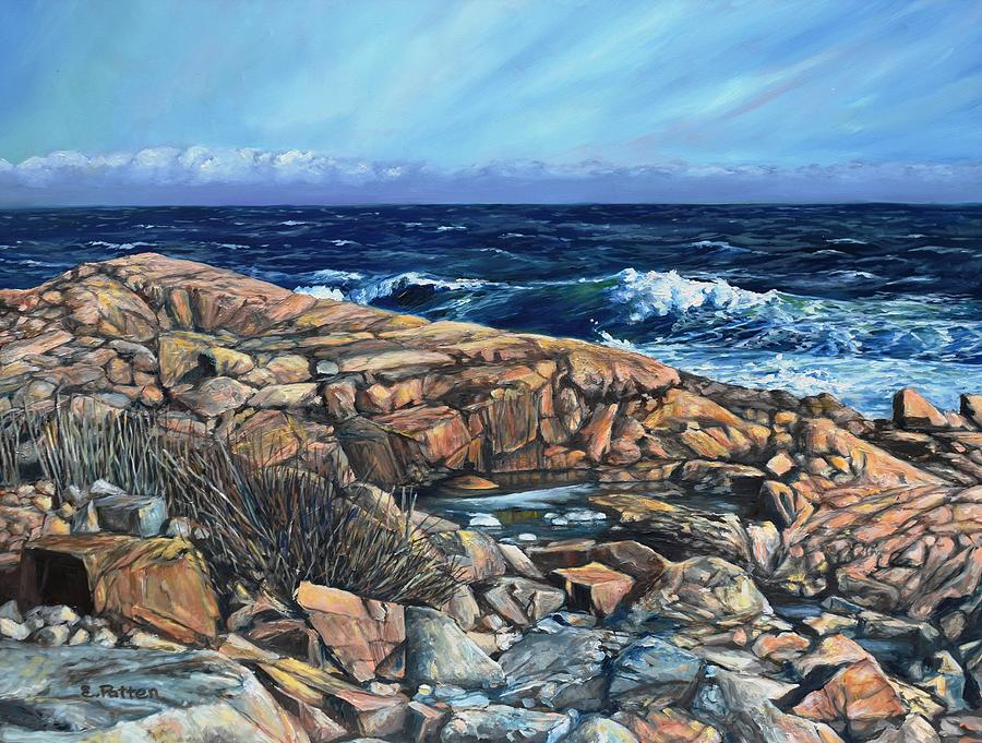 Late Winter, Brace Cove, Gloucester by Eileen Patten Oliver