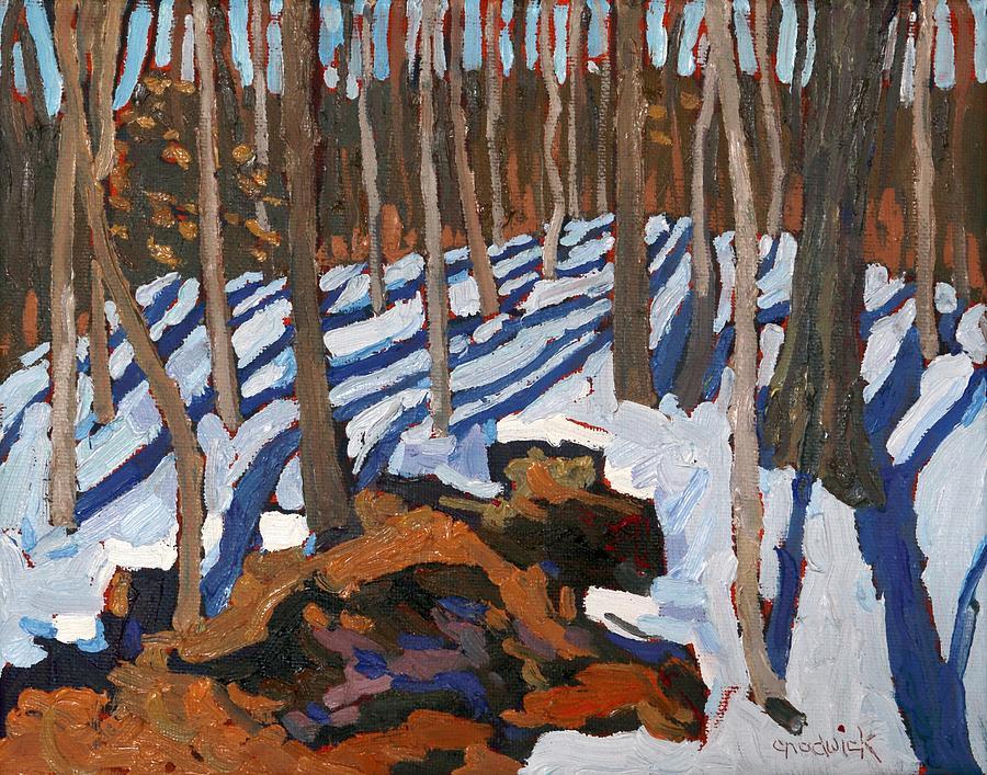 Late Winter Gneiss Ridge by Phil Chadwick