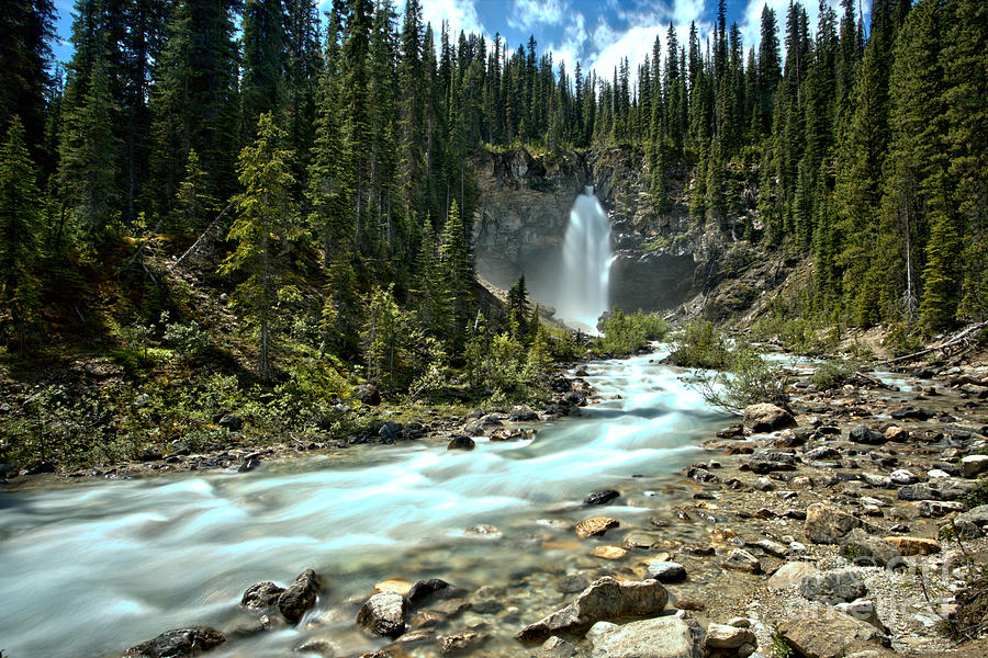Laughing Falls Blue Stream by Adam Jewell