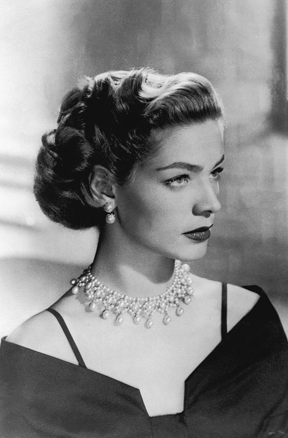 Lauren Bacall In 1949 Photograph by Keystone-france