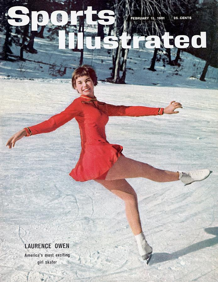 Laurence Owen, Figure Skating Sports Illustrated Cover Photograph by Sports Illustrated