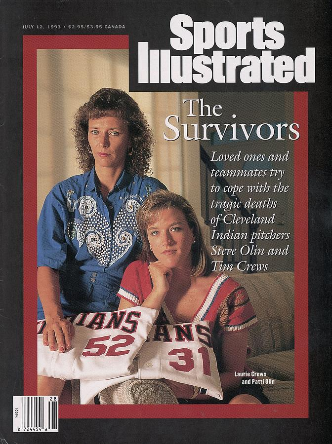 Laurie Crews And Patti Olin, Widows Of Boating Accident Sports Illustrated Cover Photograph by Sports Illustrated