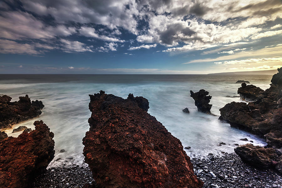 Lava Rock Beach  by Pierre Leclerc Photography