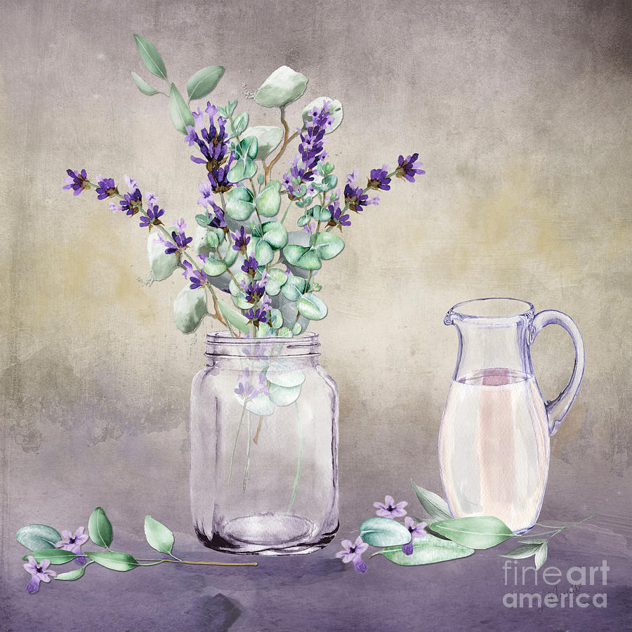 Lavender and Eucalyptus  by J Marielle