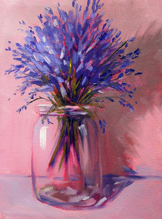 Lavender Bouquet by Nancy Merkle
