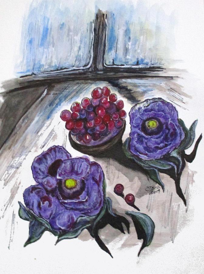 Lavender Enjoyment by Clyde J Kell